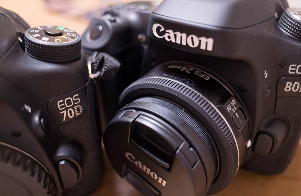 Canon EOS 70Dから80Dに両方使って気付いた4つの進化