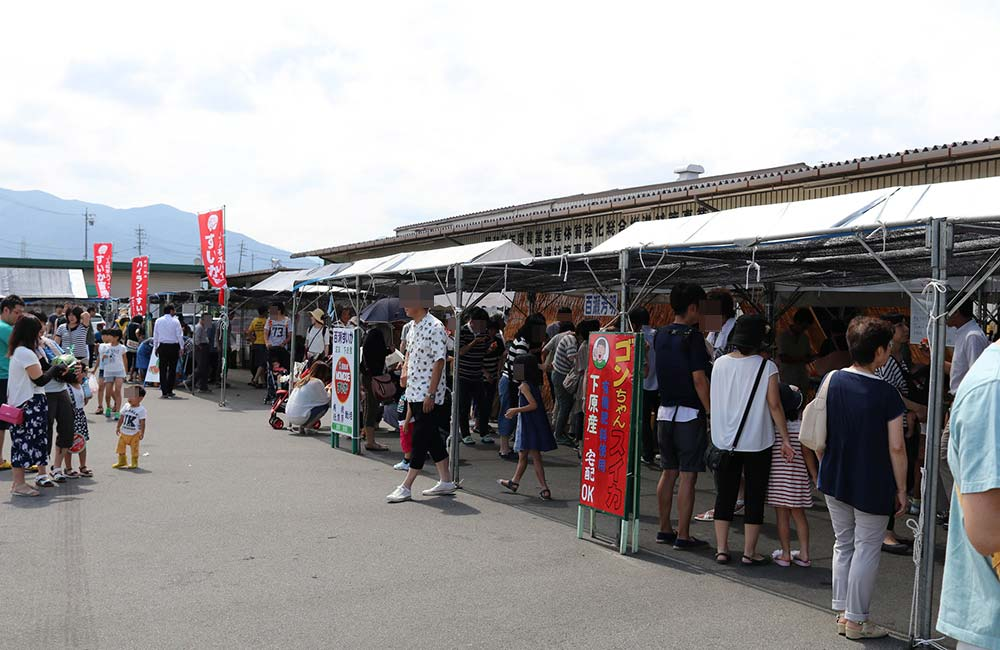 すいか村のすいか祭り! in 長野県松本市
