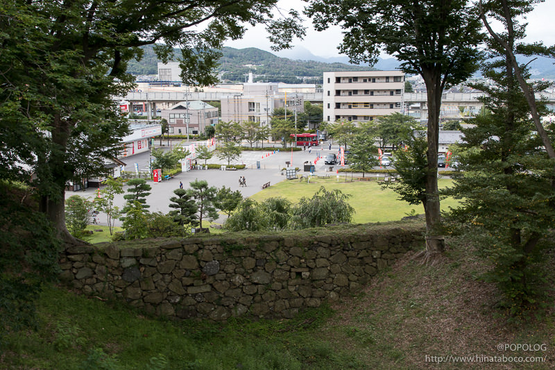 上田城からの景色