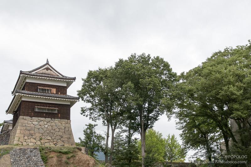 上田城の西櫓