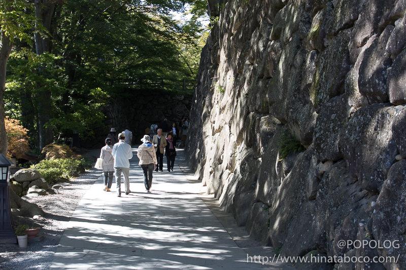 懐古園の石垣