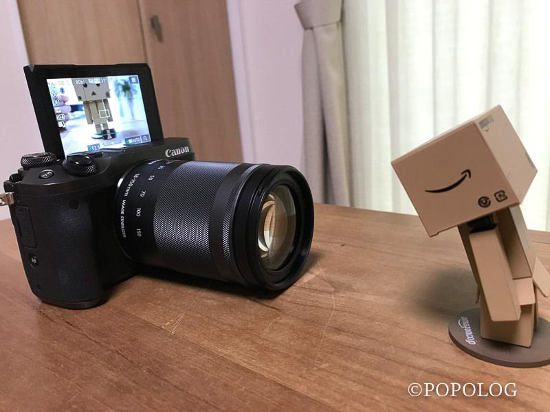 EOS M6 自撮り