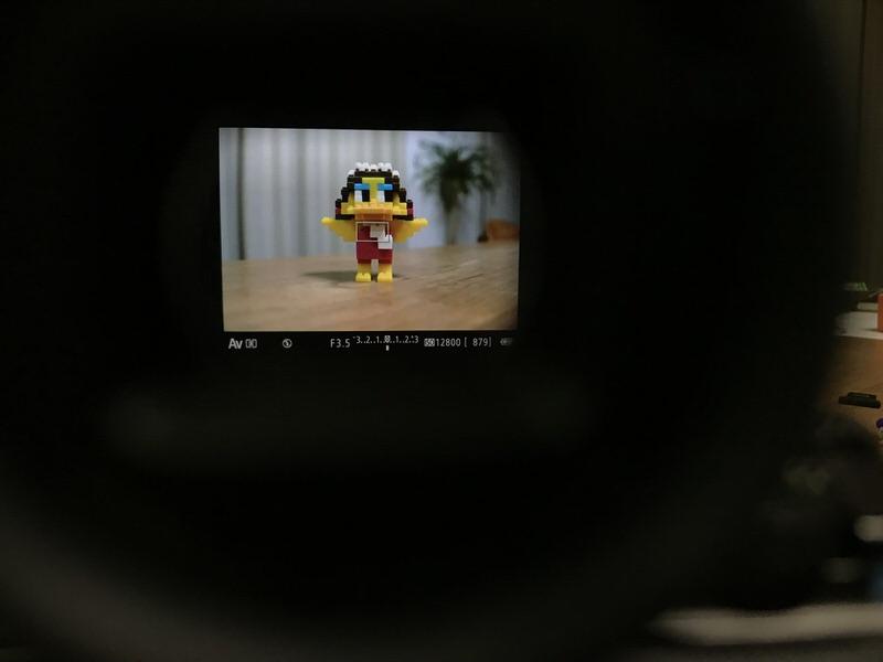 EOS M6 のEVFを利用しての撮影