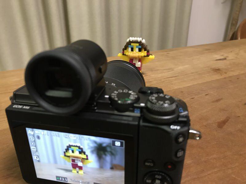EOS M6 のスクリーンを利用しての撮影