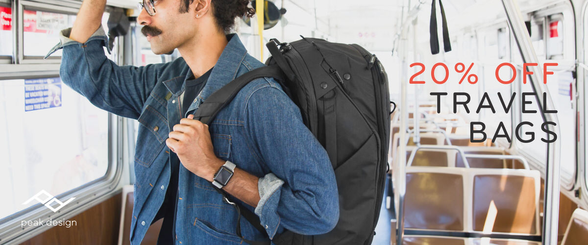 Travel Bags 20%off