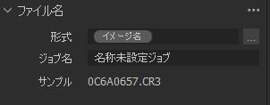 Capture Oneで取込時にファイル名を変更する